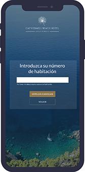 Imagen proceso captura imagen wifi | Introduzca su número de habitación