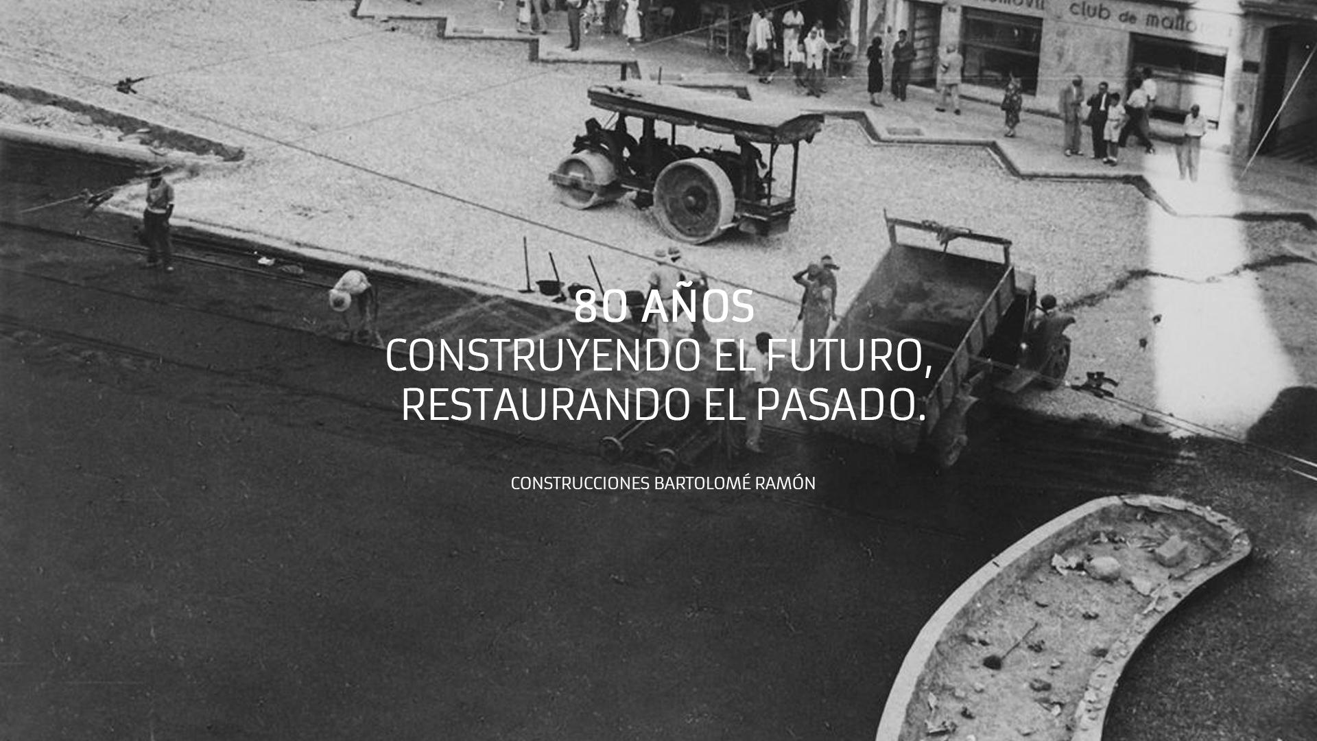 Proyecto Construcciones Bartolomé Ramón | Diseño Web